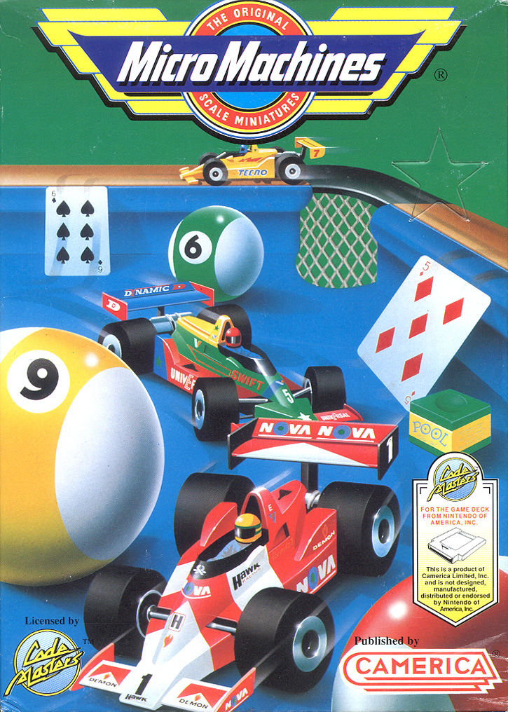 Micro Machines for NES 1991 Trivia MobyGames