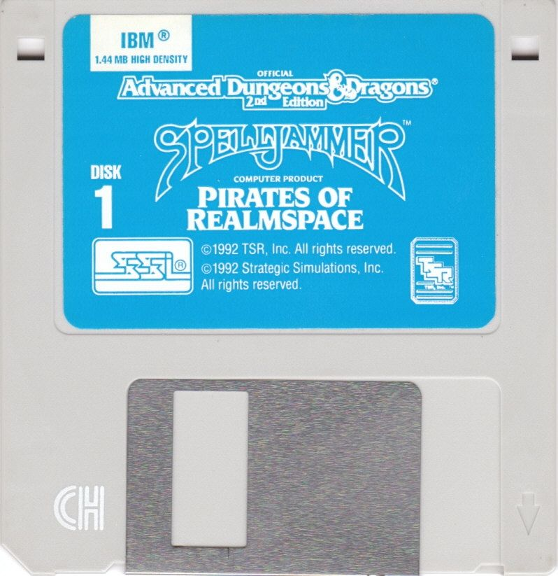 Spelljammer: Pirates of Realmspace DOS Media Disk 1