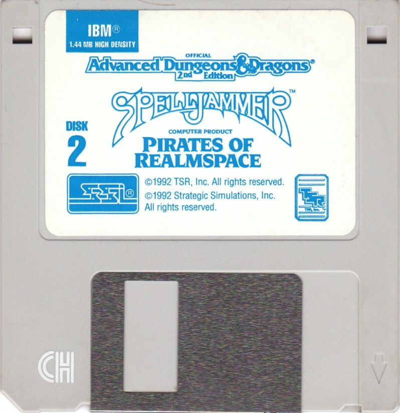 Spelljammer: Pirates of Realmspace DOS Media Disk 2