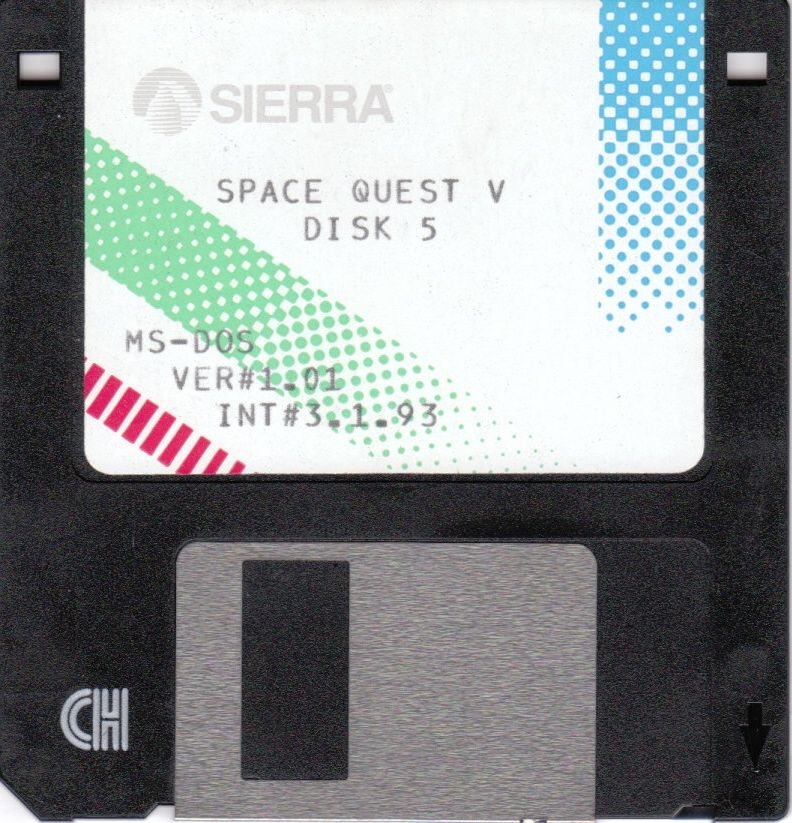 Space Quest V: The Next Mutation DOS Media Disk 4/4