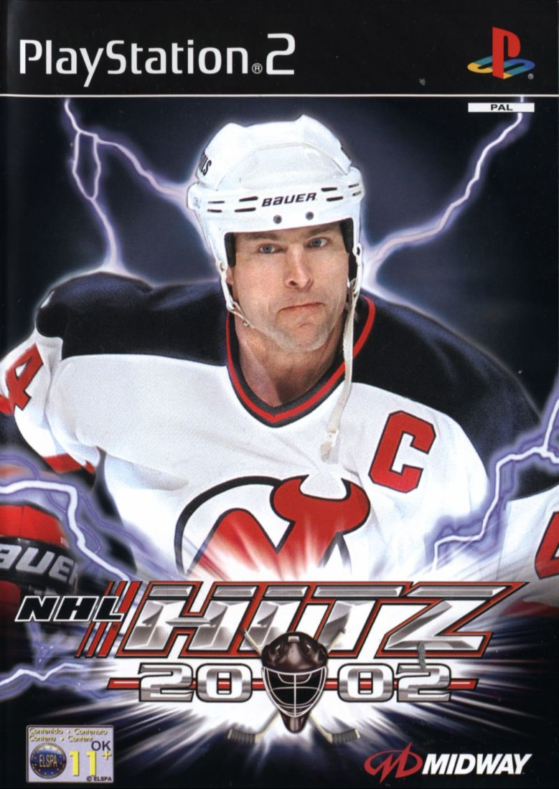 NHL Hitz 20-02 PlayStation 2 Front Cover