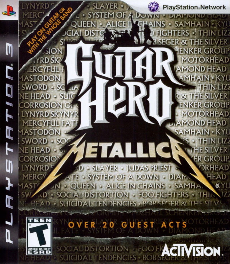 guitar hero playstation 4
