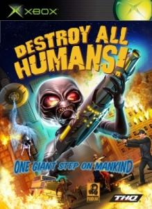 Destroy All Humans! Xbox 360 Front Cover