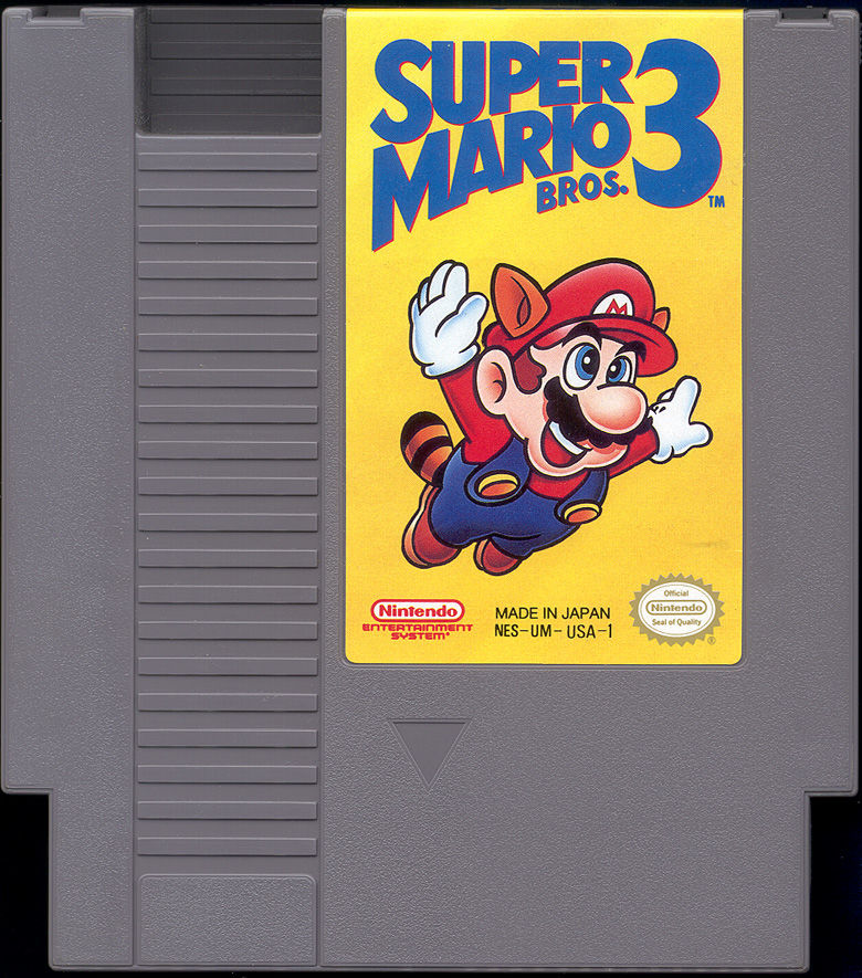 Super Mario Bros. 3 NES Media Cartridge