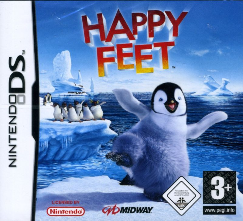 Happy Feet Nintendo DS Front Cover