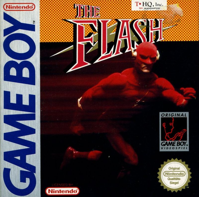 The Flash Game Boy Front Cover