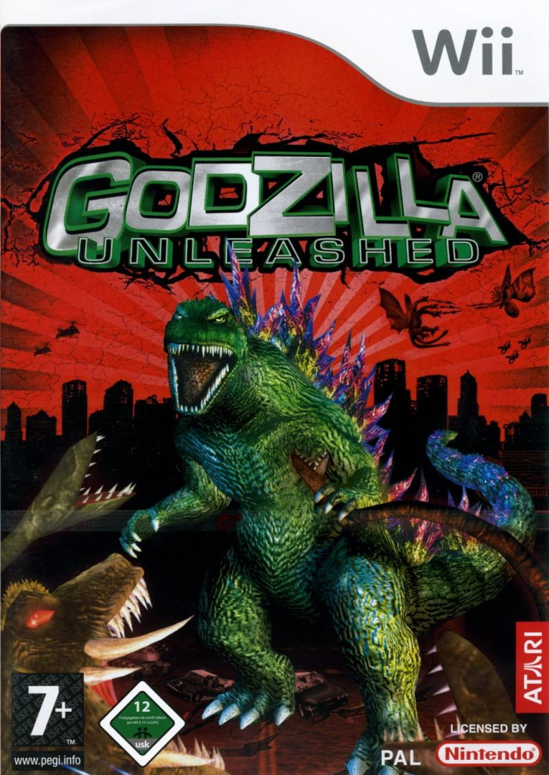Godzilla: Unleashed Wii Front Cover