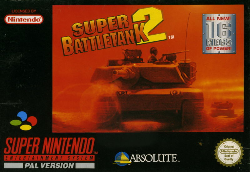 Super Battletank 2 SNES Front Cover