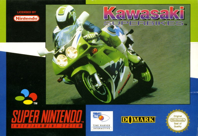 Kawasaki Superbike Challenge SNES Front Cover