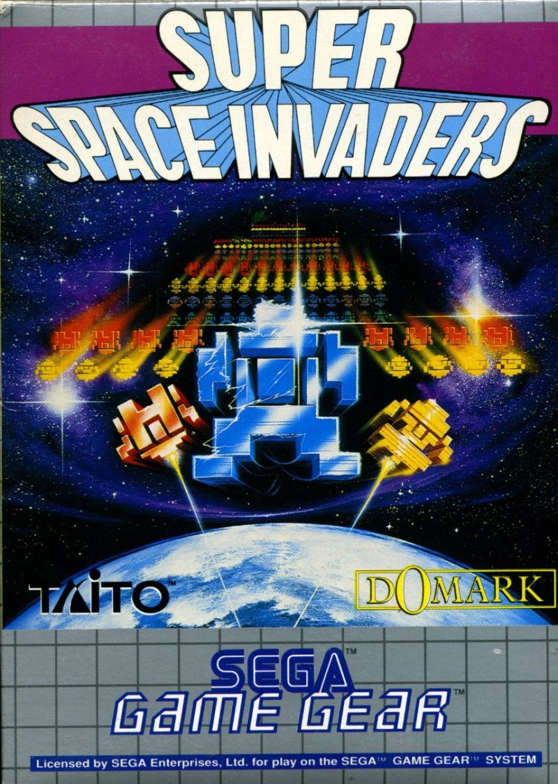 Taito's Super Space Invaders for Game Gear (1992) - MobyGames
