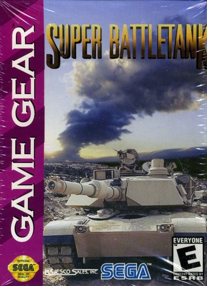 Super Battletank Game Gear Front Cover