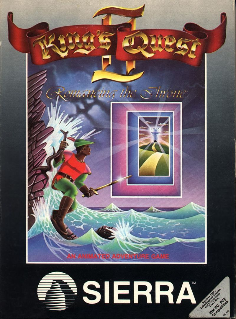 King S Quest Ii Romancing The Throne For Amiga 1987