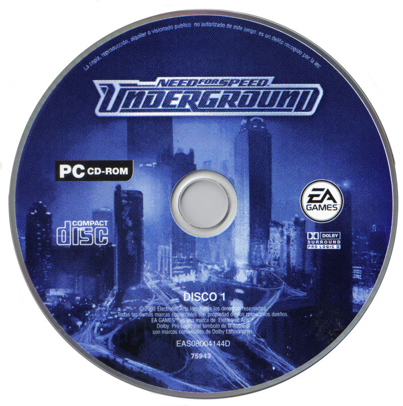 Need for Speed: Underground Windows Media Disk 2