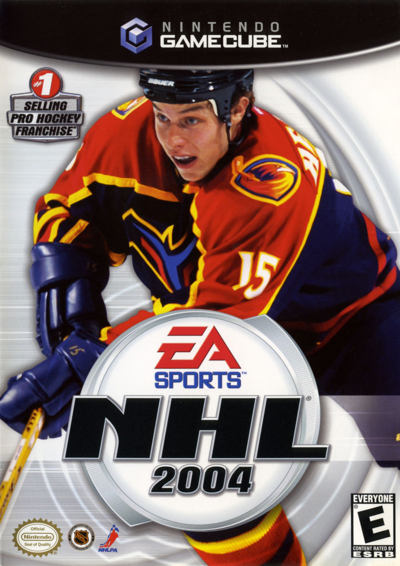 NHL 2004 GameCube Front Cover