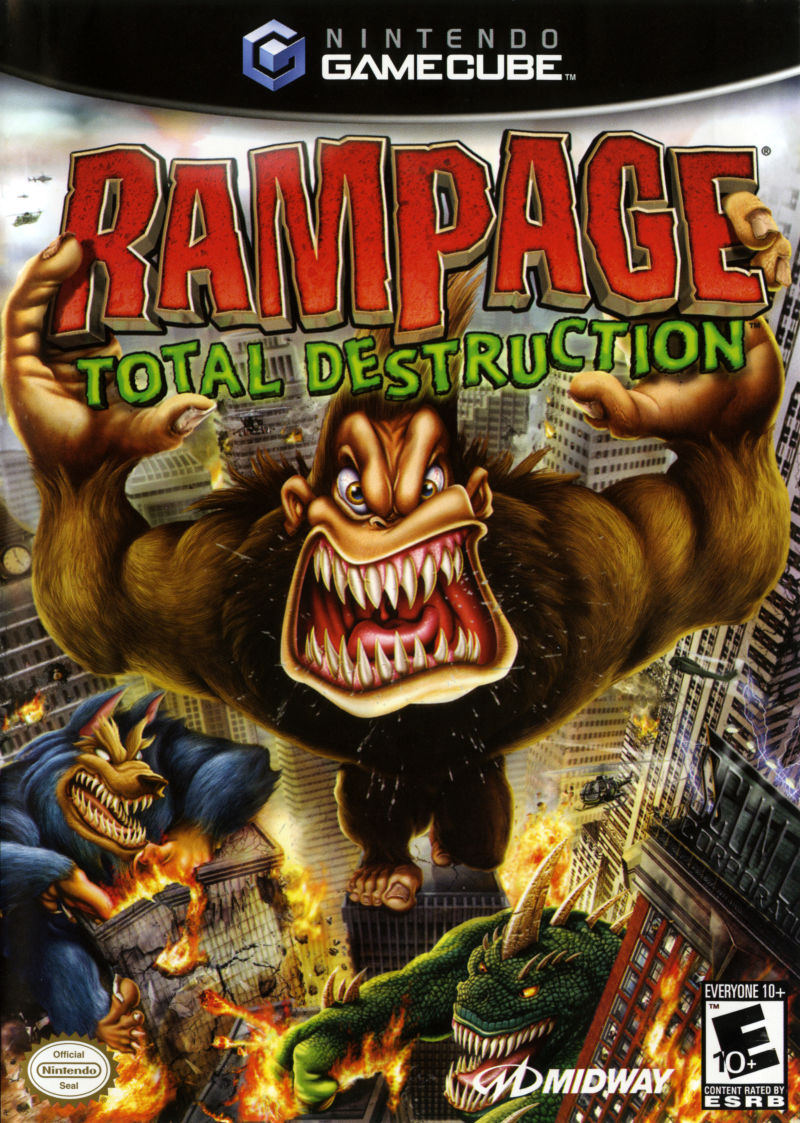 Rampage Total Destruction For Gamecube 2006 Mobyrank Mobygames