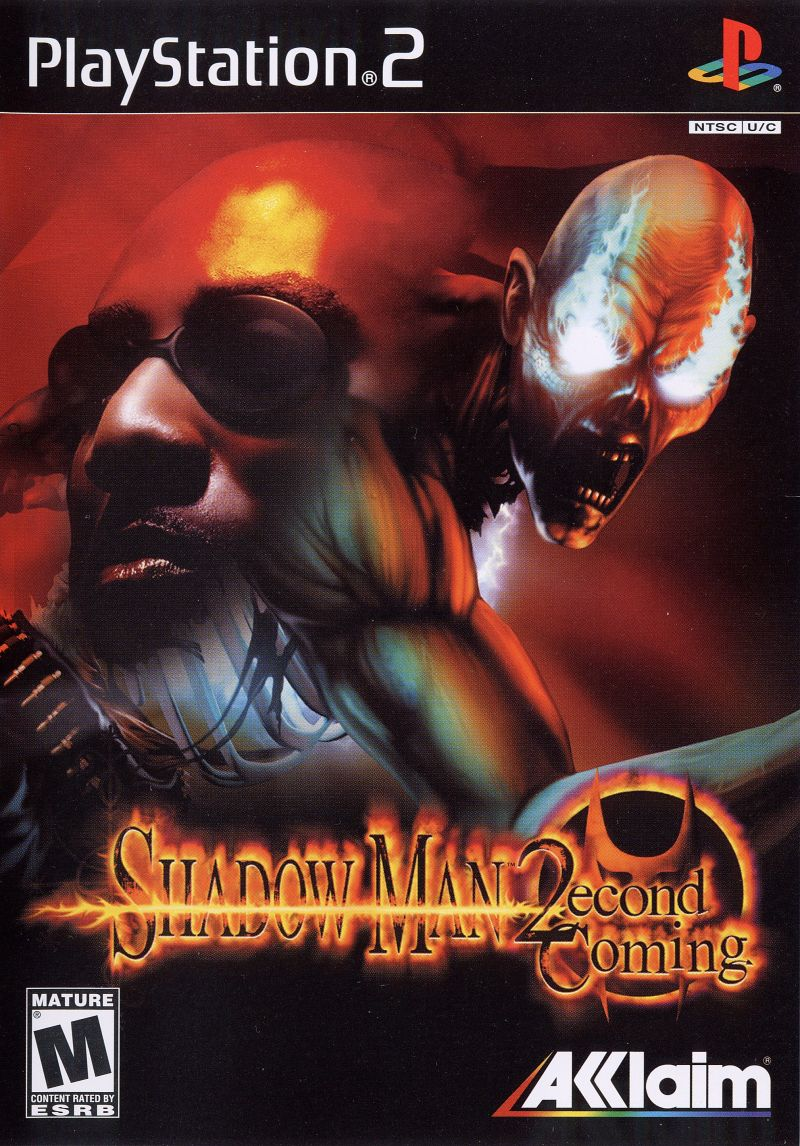Shadow Man: 2econd Coming (2002) PlayStation 2 box cover art - MobyGames