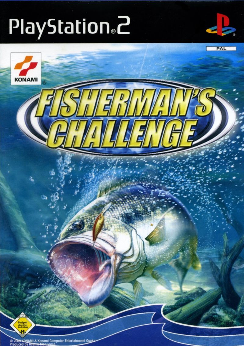 cedeb0f0557 Fisherman s Challenge (2003) PlayStation 2 box cover art - MobyGames