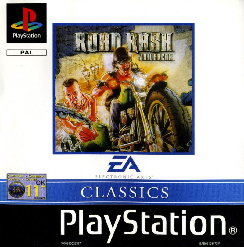 Road Rash: Jailbreak PlayStation Front Cover