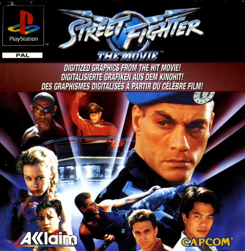Street Fighter The Movie 1995 Box Cover Art Mobygames