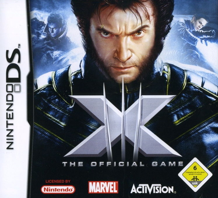 X-Men: The Official Game Nintendo DS Front Cover