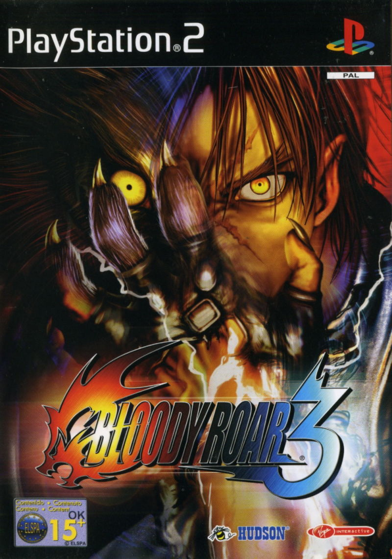 Bloody Roar 3 (2001) PlayStation 2 box cover art - MobyGames