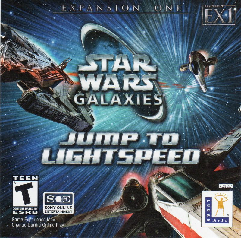 Star Wars: Galaxies - Jump to Lightspeed Windows Other Jewel Case - Front Cover