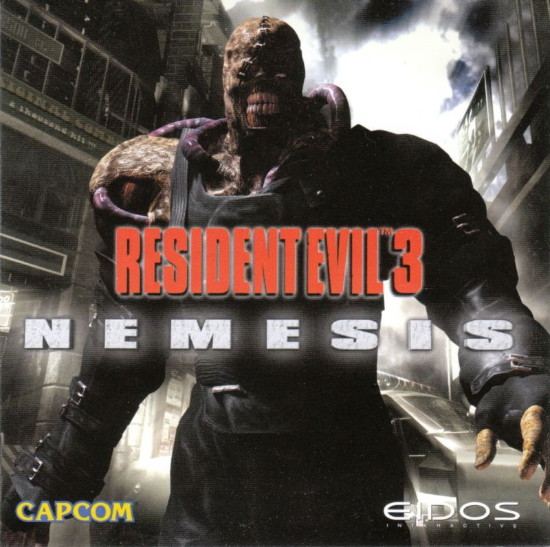 Resident Evil 3: Nemesis Windows Other Jewel Case - Front