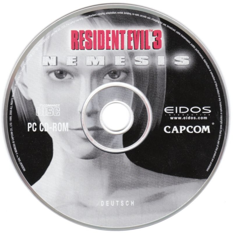 Resident Evil 3: Nemesis Windows Media
