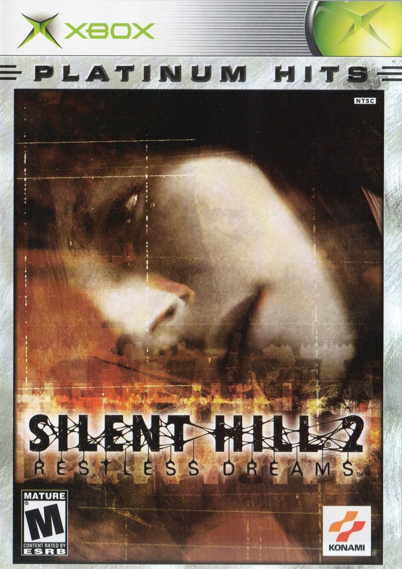 Silent Hill 2 Restless Dreams 2001 Xbox Box Cover Art Mobygames