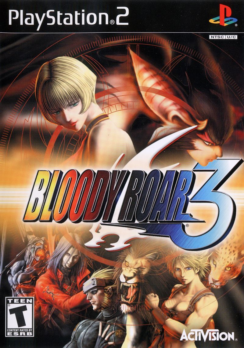 Bloody Roar 3 PlayStation 2 Front Cover