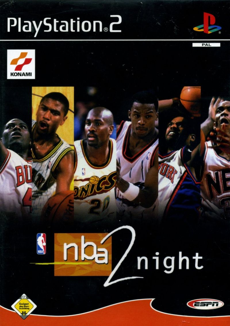 ESPN NBA 2Night PlayStation 2 Front Cover