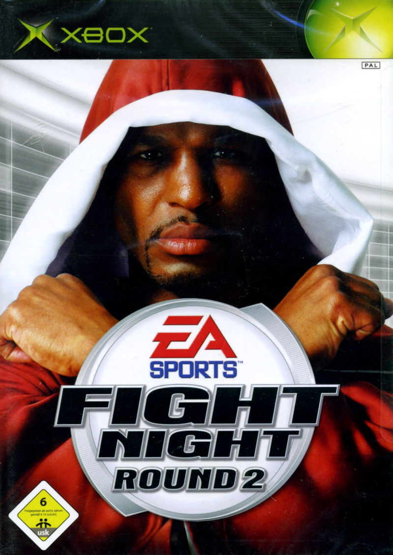 Fight Night Round 2 Xbox Front Cover