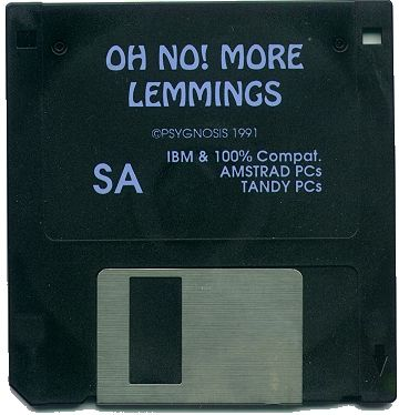 Oh No! More Lemmings DOS Media
