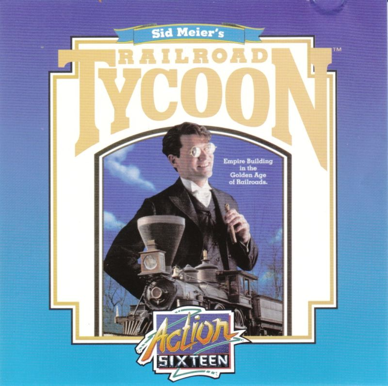 Sid Meier's Railroad Tycoon DOS Other Jewel Case - Front