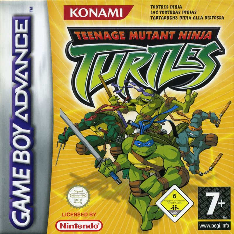 Teenage Mutant Ninja Turtles For Game Boy Advance 2003 Mobygames
