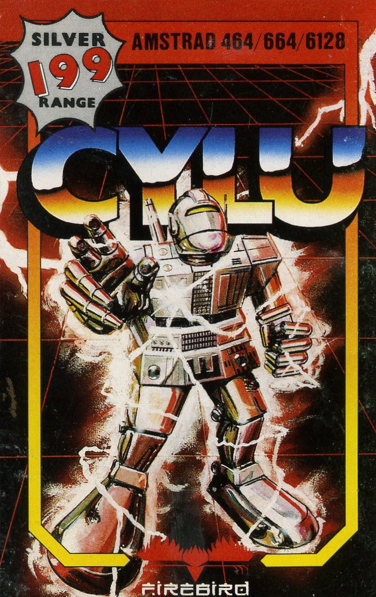 Cylu Amstrad CPC Front Cover