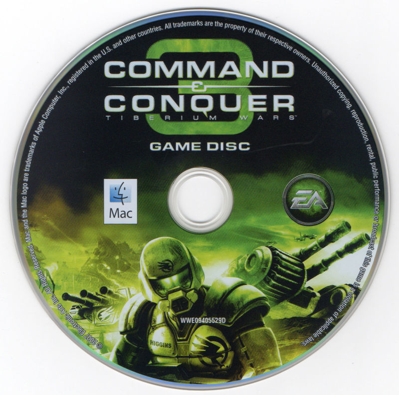 Command & Conquer 3: Tiberium Wars Macintosh Media