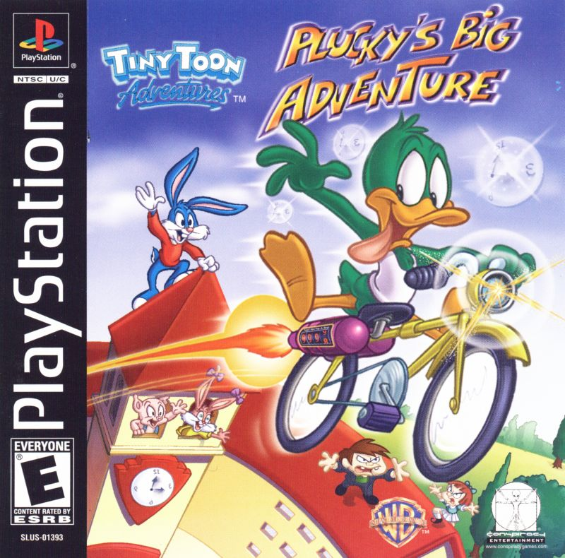 Tiny Toon Adventures: Plucky's Big Adventure for PlayStation (2001) - MobyGames