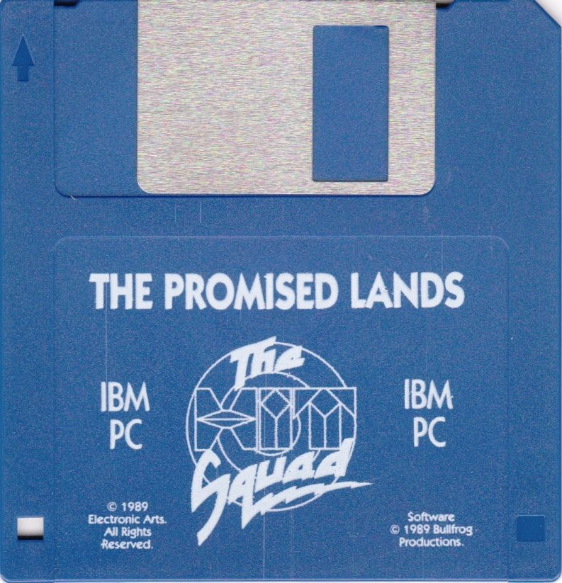 Populous / Populous: The Promised Lands DOS Media Populous: The Promised Lands Disk
