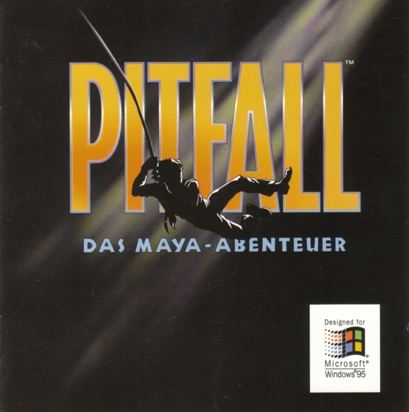Pitfall: The Mayan Adventure Windows Other Jewel Case - Front