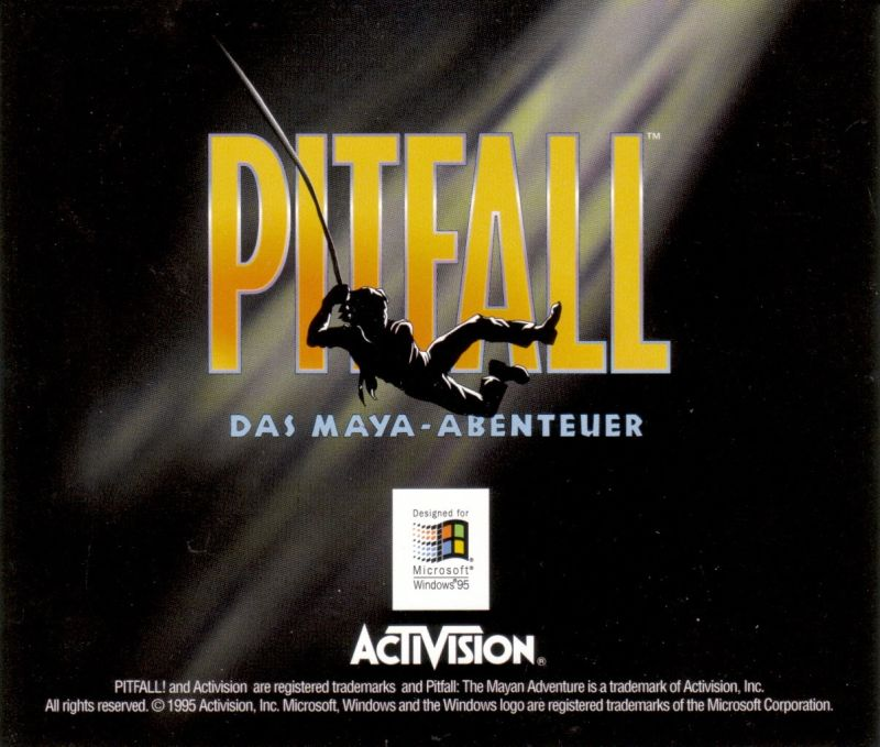 Pitfall: The Mayan Adventure Windows Other Jewel Case - Back