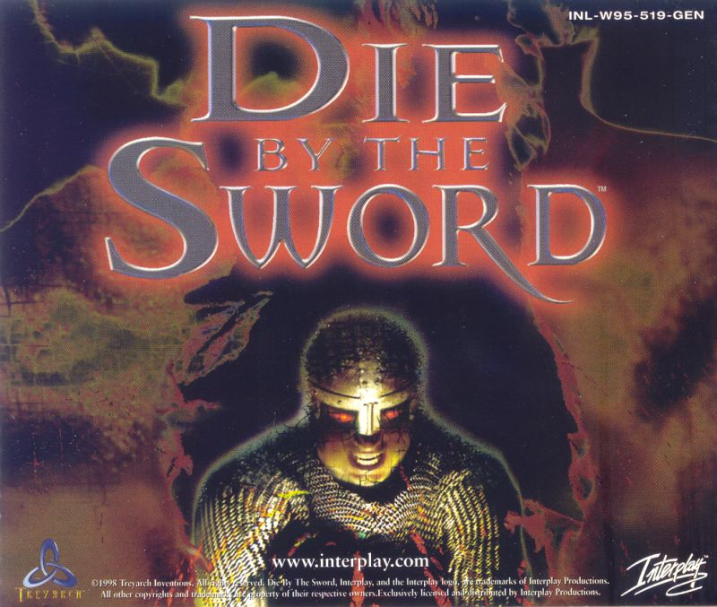 Die by the Sword Windows Other Jewel Case - Back