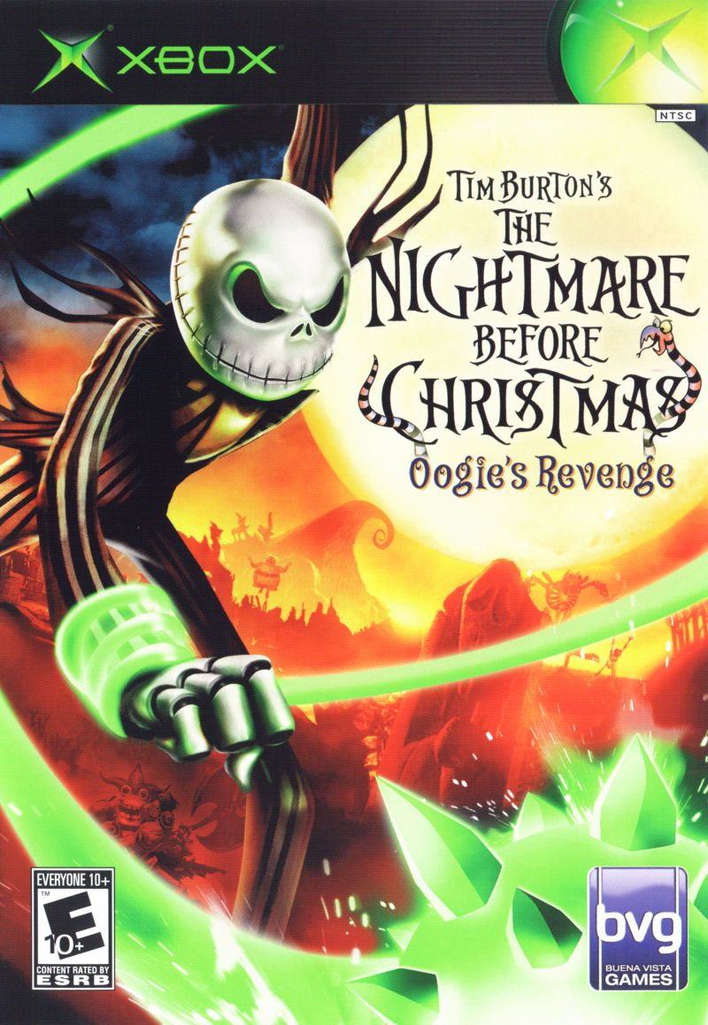 Tim Burton\'s The Nightmare Before Christmas: Oogie\'s Revenge (2005 ...