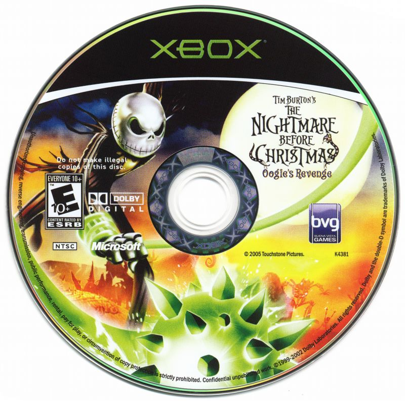 Tim Burton's The Nightmare Before Christmas: Oogie's Revenge (2004 ...