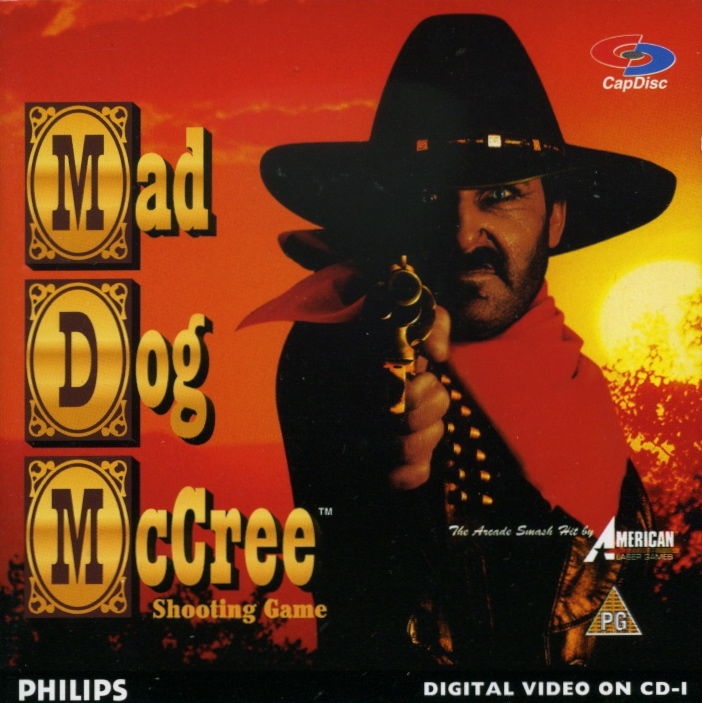 Mad Dog McCree CD-i Front Cover