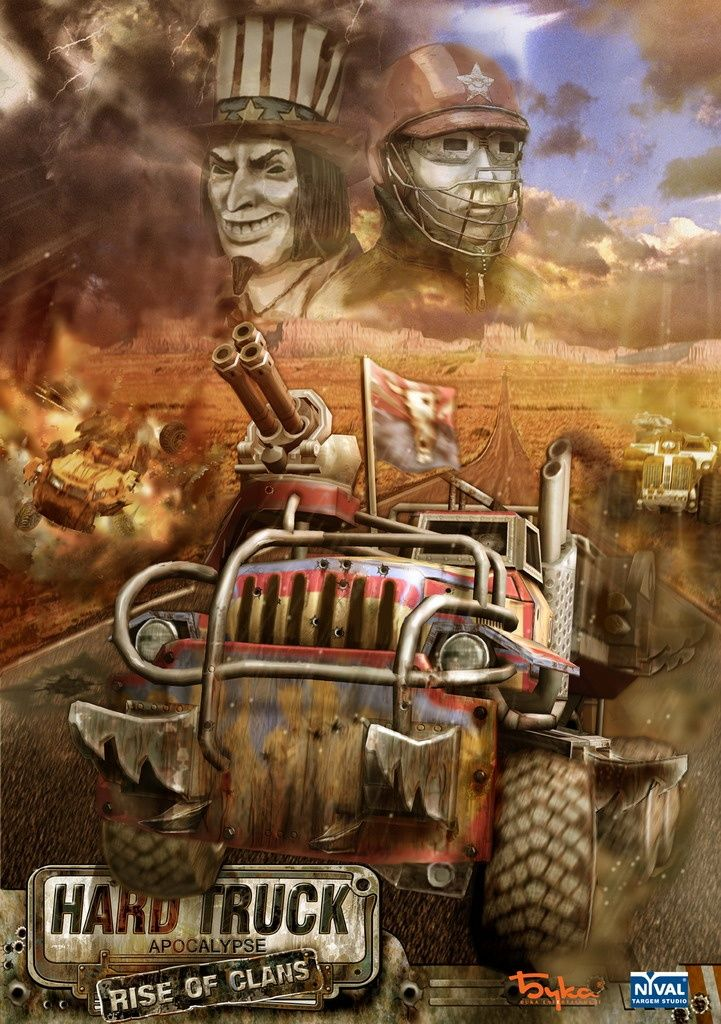 Hard Truck: Apocalypse - Rise of Clans Windows Front Cover