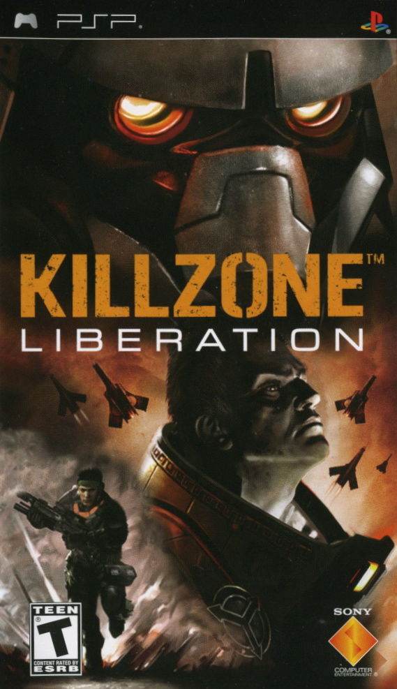 Killzone Liberation For Psp 2006 Ad Blurbs Mobygames