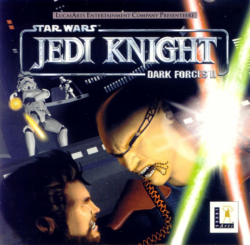 Star Wars: Jedi Knight - Dark Forces II Windows Other Jewel Case - Front