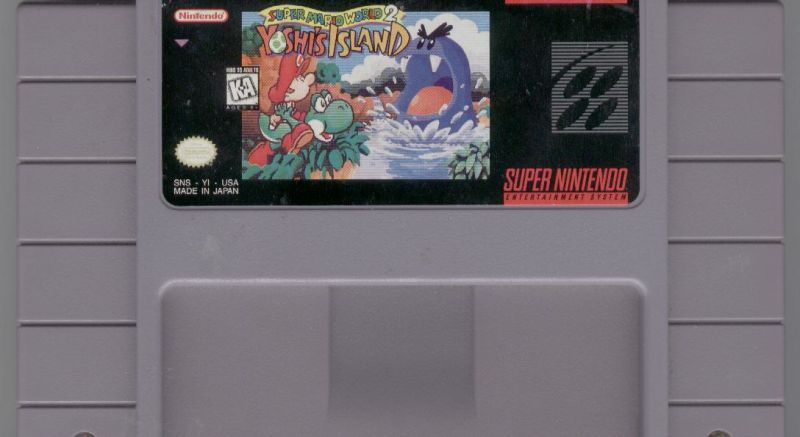 Super Mario World 2: Yoshi's Island SNES Media