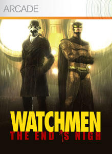 Watchmen: The End is Nigh Xbox 360 Front Cover